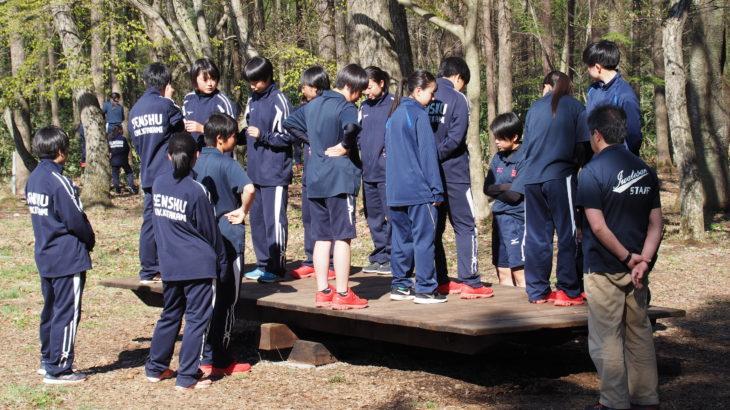 保護中: 合宿 in岩手山青少年交流の家(5月4日)