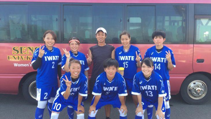 国体女子チームとの練習試合