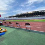 東京オリンピックのスタッフとして本チームの山門トレーナーが参加しています
