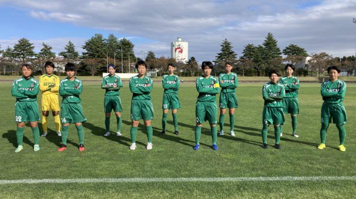 第30回全日本高等学校女子サッカー選手権大会 東北地域大会 2日目